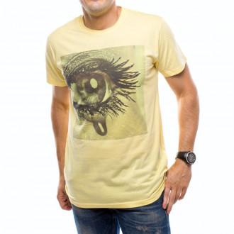 Camiseta  US360º Ojo Gol Iniesta Amarilla