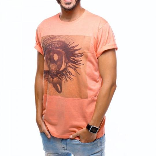 Camiseta  US360º Ojo Gol Iniesta Coral
