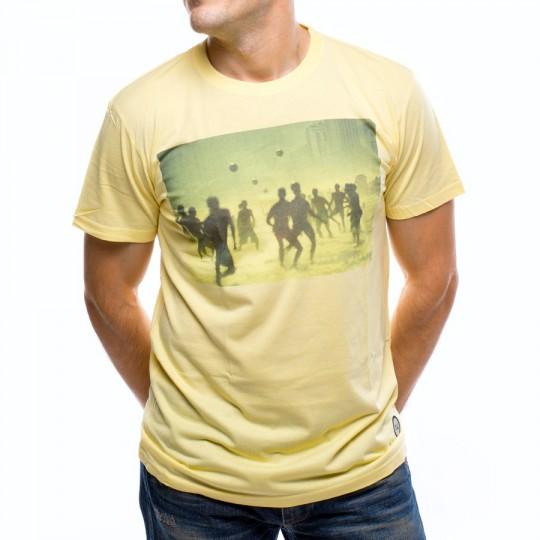 Camiseta  US360º Beach Amarilla