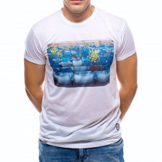 Camiseta  US360º Gradas Blanca
