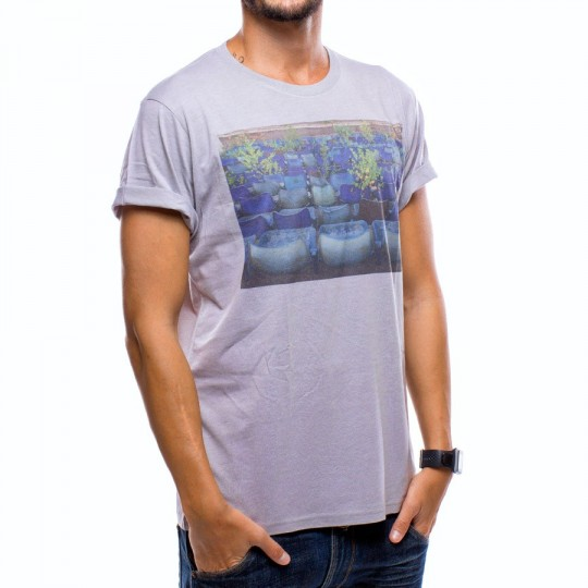 Camiseta  US360º Gradas Gris
