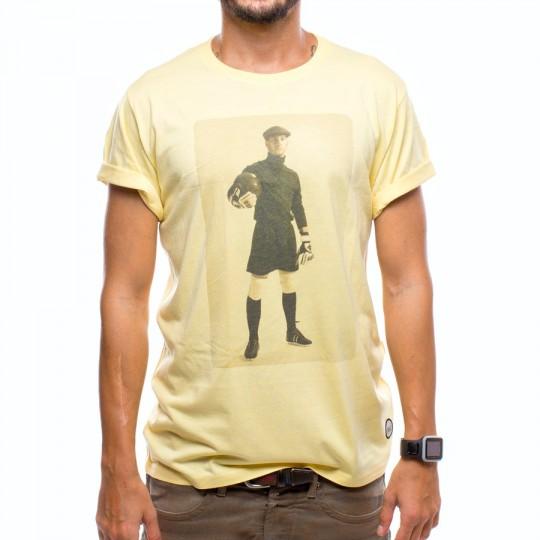 Camiseta  US360º Keeper Vintage Amarilla