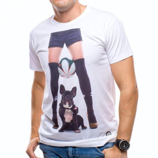 Camiseta  US360º Perrito Blanca