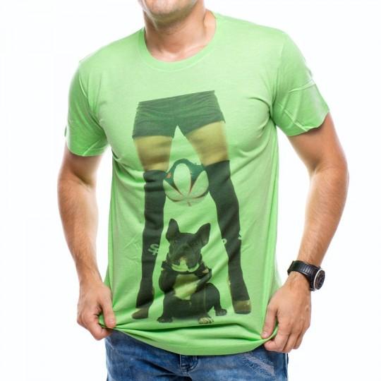 Camiseta  US360º Perrito Verde