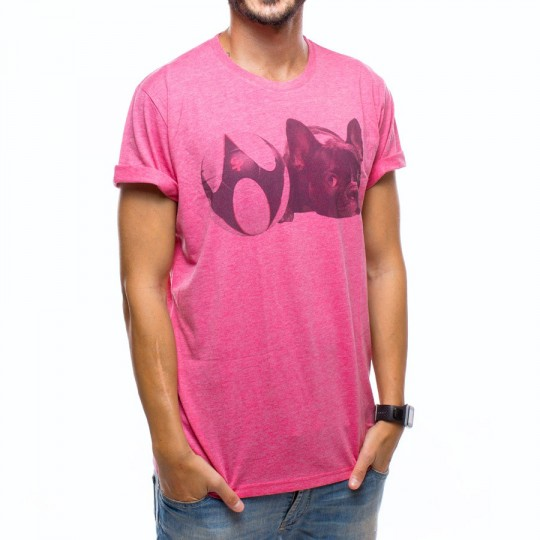 Camiseta  US360º Balldog Fucsia