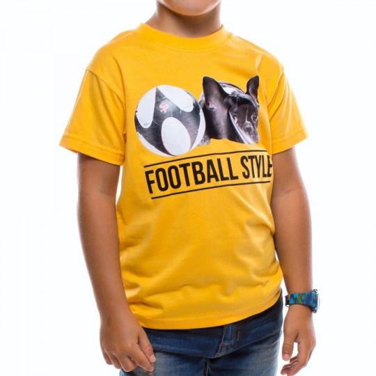 Camiseta  US360º Jr Perrito Amarilla
