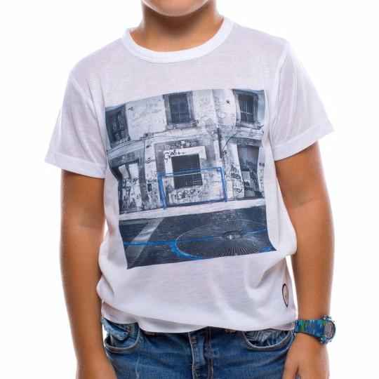 Camiseta  US360º Napoles Niño Blanca