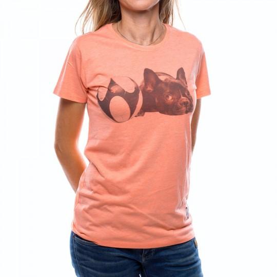 Camiseta  US360º Balldog Mujer Coral