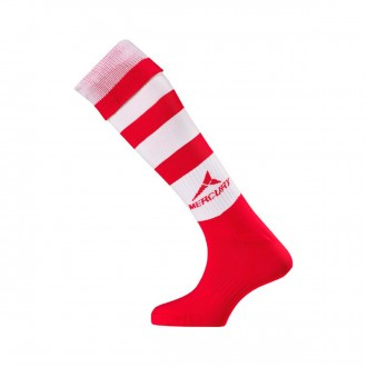 Football Socks  Mercury Classic Red-White