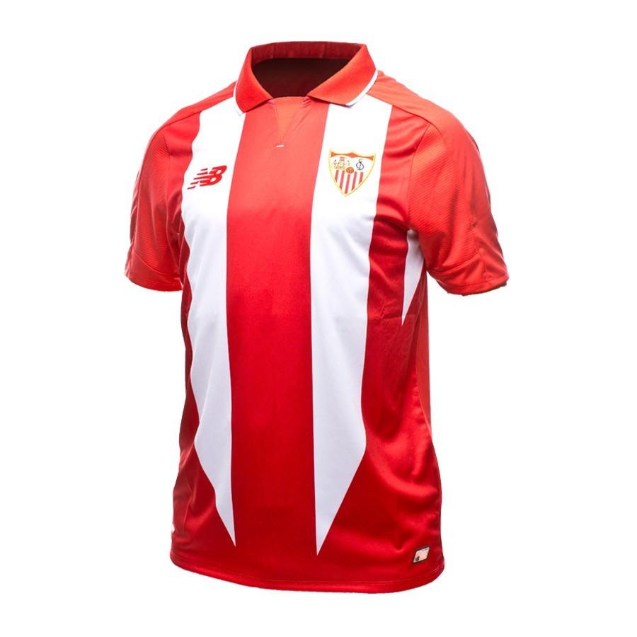 0027fd5ef Jersey New Balance Sevilla FC Away 15-16 Red-White - Football store ...