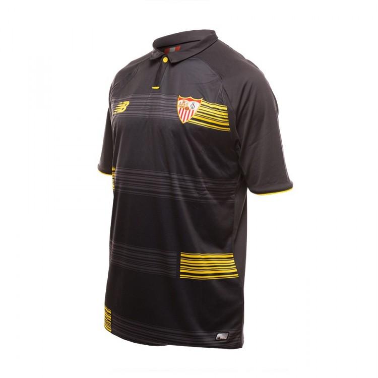 8ed7ed9c3a Camiseta New Balance Sevilla FC Tercera Equipación. 15-16 Black ...