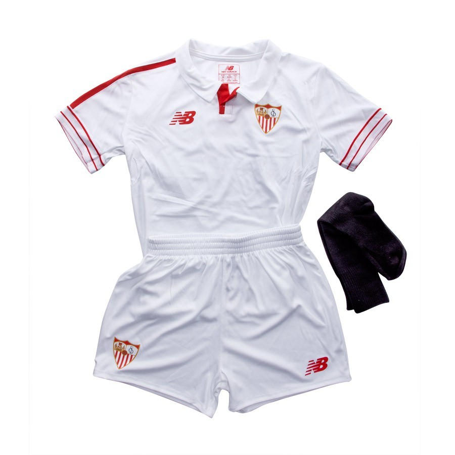 16a1695d9 ... Conjunto Sevilla FC Kit Infant Primera Equipación 15-16 White. CATEGORY