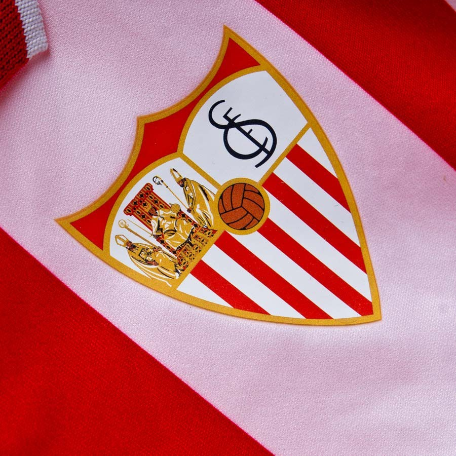 c3491a885 Kit New Balance Sevilla FC Kit Infant Away 15-16 Red-White - Football store  Fútbol Emotion
