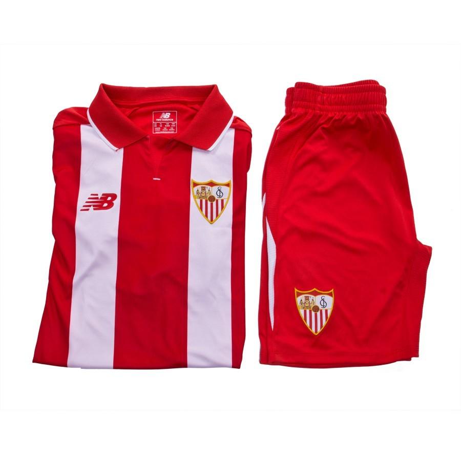 a36d2c6cc Kit New Balance Jr Sevilla FC Away 15-16 Red-White - Football store ...