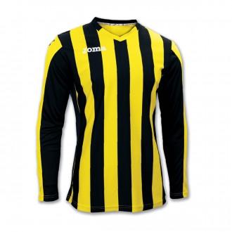 Jersey  Joma Copa m/l Yellow-Black