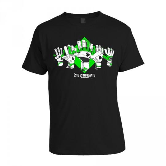 Camiseta  SP Este Es Mi Guante Negra