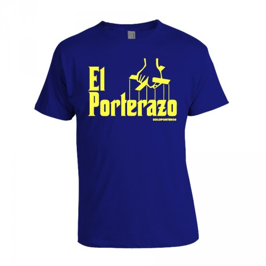 Camiseta  SP El Porterazo Azul