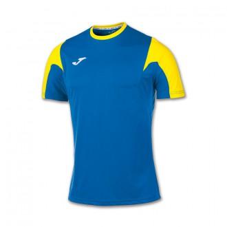 Jersey  Joma Estadio m/c Royal-Yellow