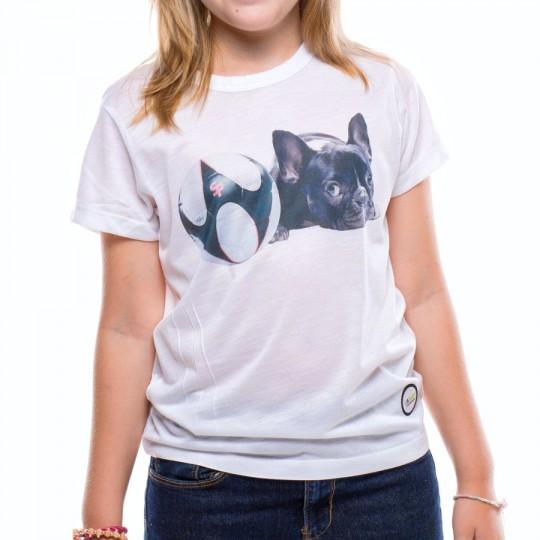 T-Shirt  US360º Jr Perrito White
