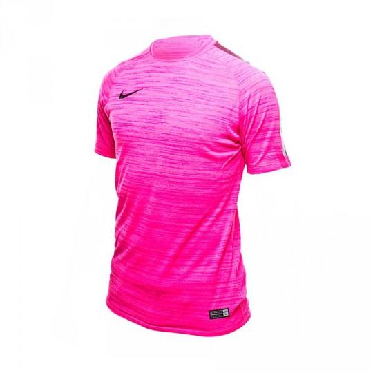 Camiseta  Nike Flash Cool Elite Fucsia-Heather-Black