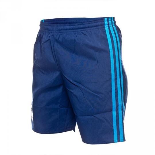 Pantalón corto  adidas Jr Real Madrid 3ª 15-16 Night indigo-Bright blue