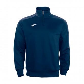 Sweatshirt  Joma Faraon half zipper Navy blue