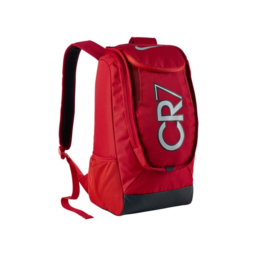 University Nike Black Cr7 Compact Bp Fb Red Zaino Negozio Shield reCxBoWd