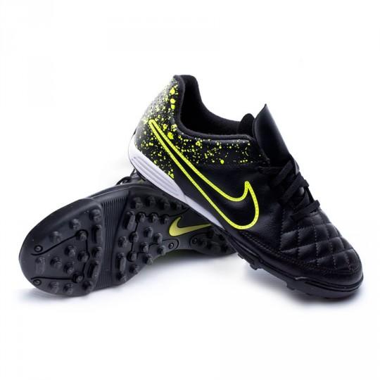 Bota  Nike Jr Tiempo Rio II TF Black-Volt