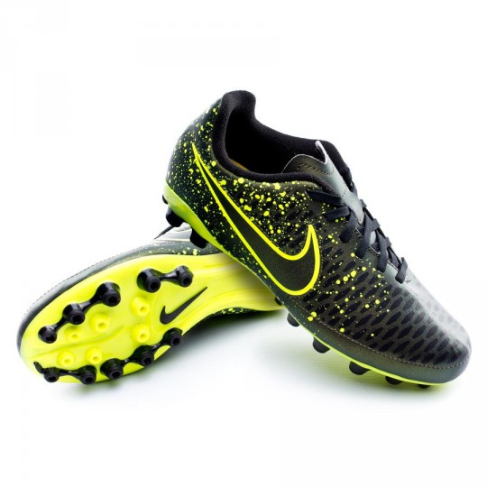 Chuteira  Nike Jr Magista Onda AG Dark citron-Black-Volt