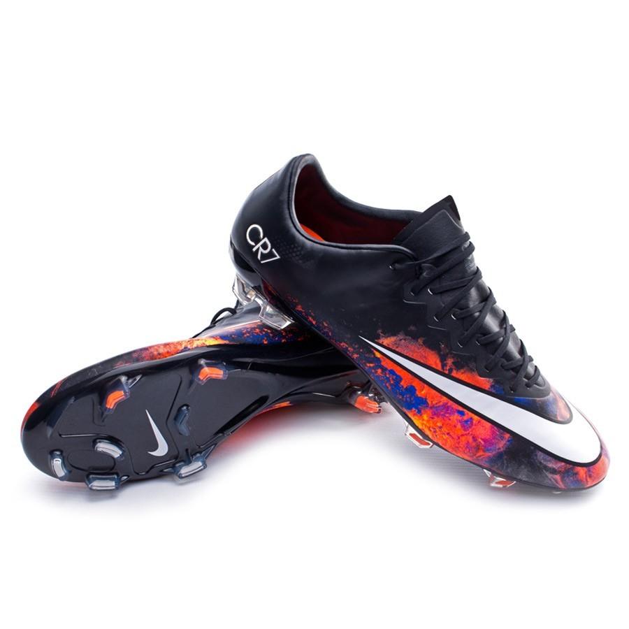 e95f94c57 Football Boots Nike Mercurial Vapor X CR ACC FG Black-White-Total ...