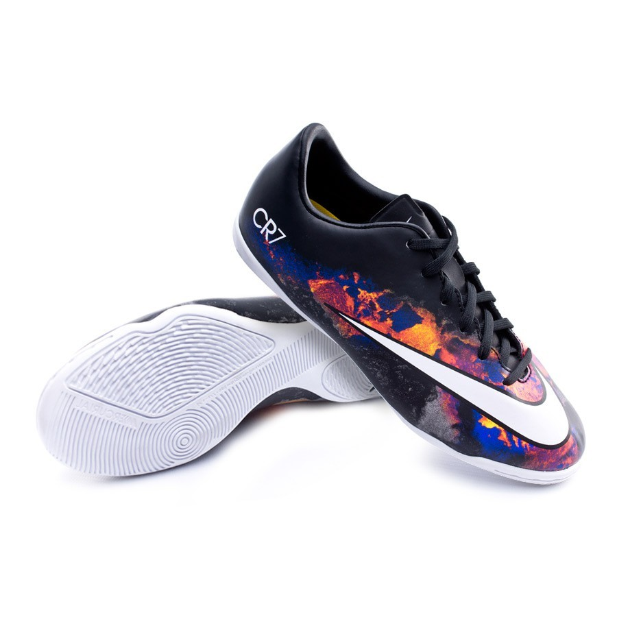 4b51c598a Futsal Boot Nike Jr Mercurial Victory V CR IC Black-White-Total ...