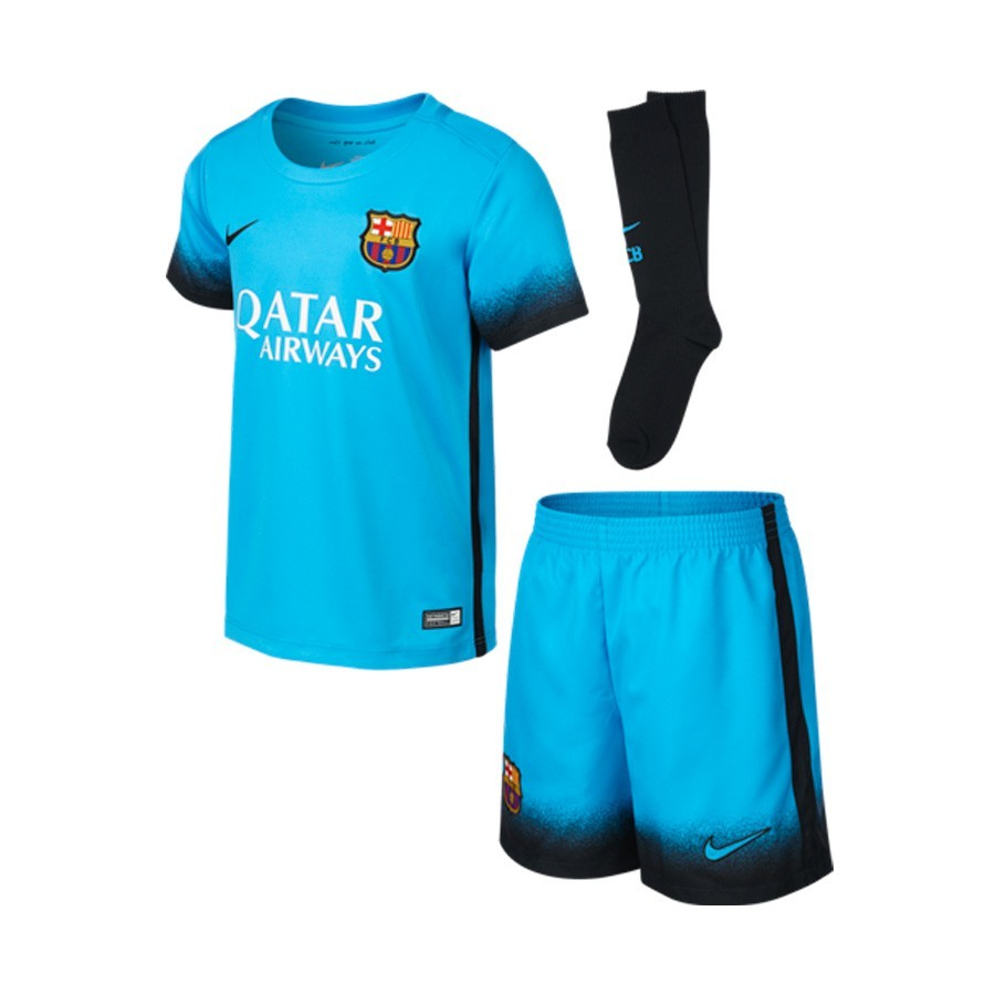 99fc5a886bd9c Kit Nike Jr FC Barcelona Decept Current blue-Black - Football store ...