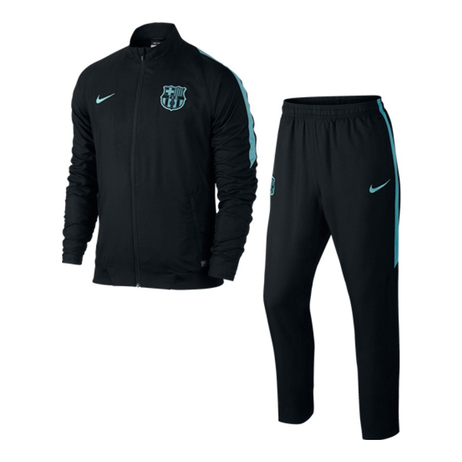 ... Chándal FC Barcelona Revolution Sideline Woven Black-Current blue.  CATEGORY 0b091a20038