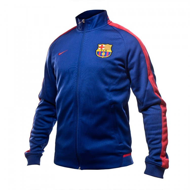 3f0a718e7eb Jacket Nike FC Barcelona N98 Authentic Loyal blue-Storm red ...