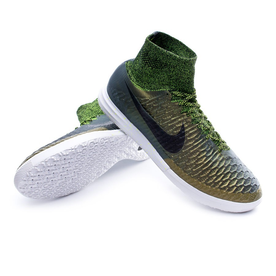 922a758594b1 Futsal Boot Nike MagistaX Proximo IC Dark citron-Black-White-Volt ...