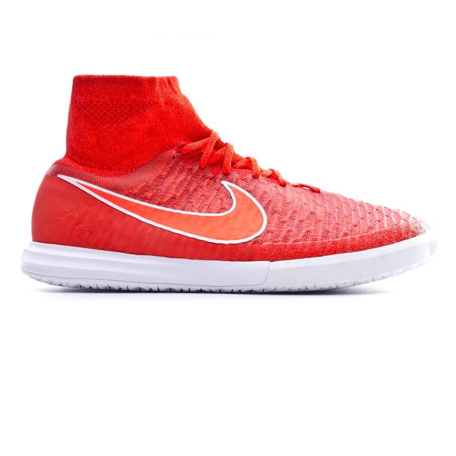 4050a94bc9fe Futsal Boot Nike MagistaX Proximo IC Challenge red-Bright crimson-White- Black - Football store Fútbol Emotion