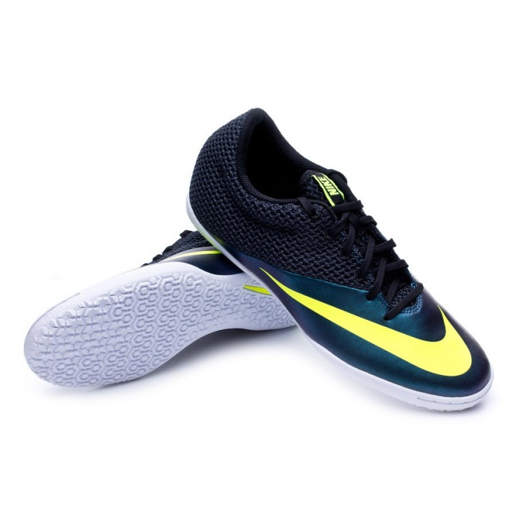 new concept 90dbe 22b92 Zapatilla MercurialX Pro IC Squadron blue-Volt-Black