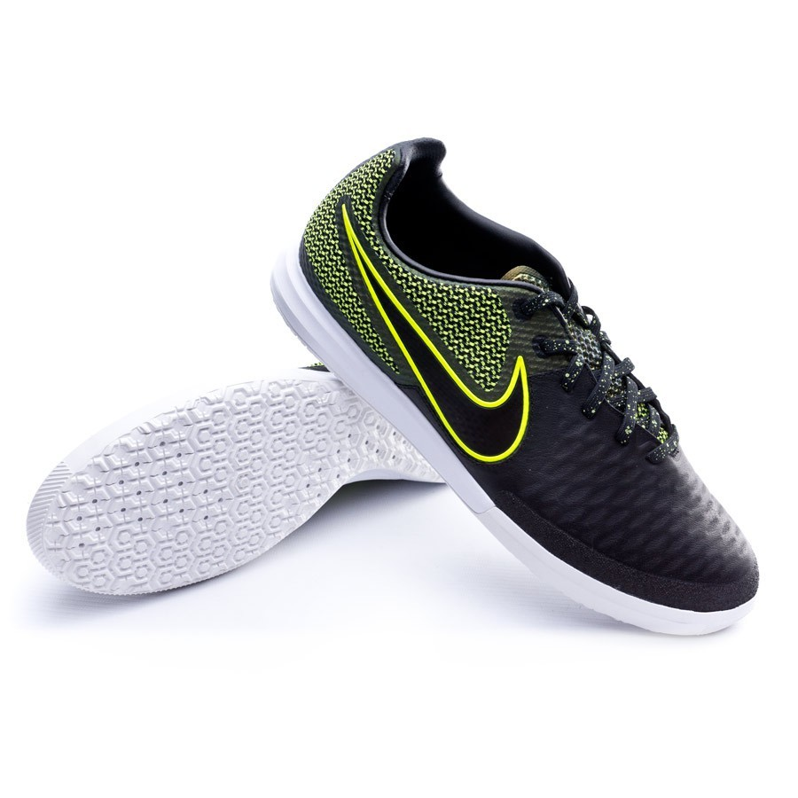 d91aca97c38dd Futsal Boot Nike MagistaX Finale IC Black-Volt-White - Football ...