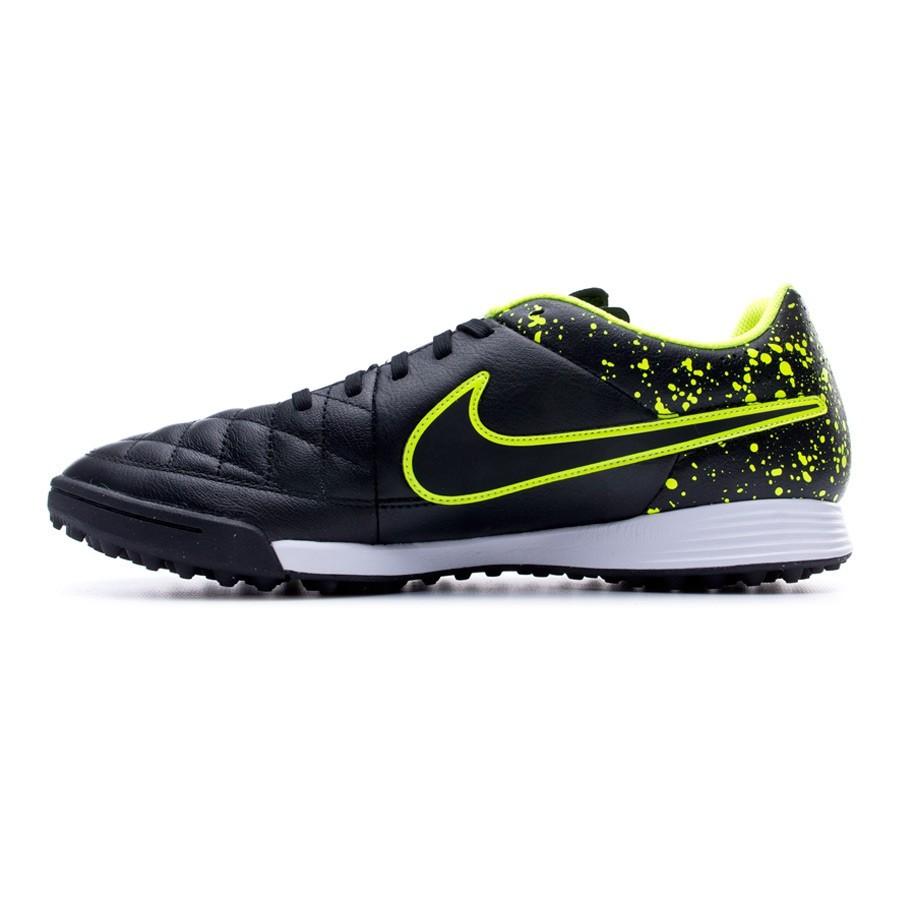 Genio Cuir Black De Tiempo Nike Volt Boutique Chaussure Foot Turf FTfqwxI