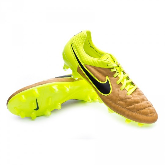Chuteira  Nike Tiempo Legend V ACC Tech Craft Pele FG Canvas-Black-Volt