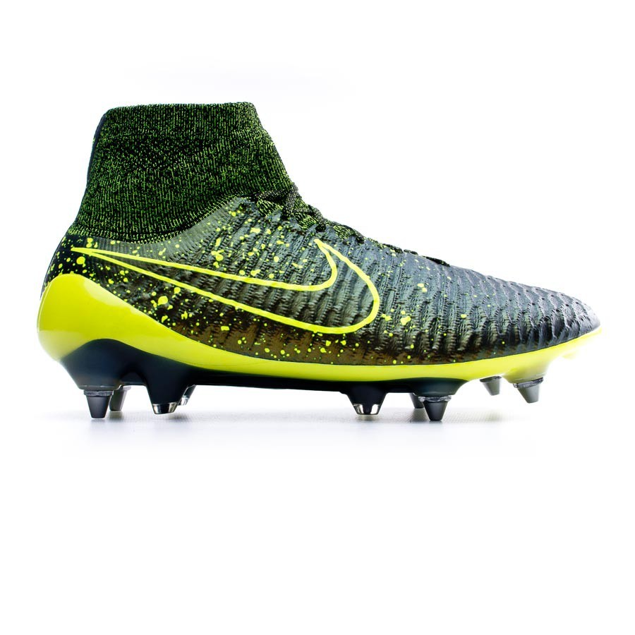 pretty nice 6fabc 30c66 Bota de fútbol Nike Magista Obra ACC SG-Pro Dark citron-Volt-Black - Tienda  de fútbol Fútbol Emotion