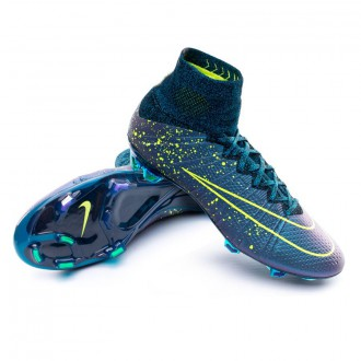 Mercurial Superfly ACC FG Squadron blue-Volt-Black