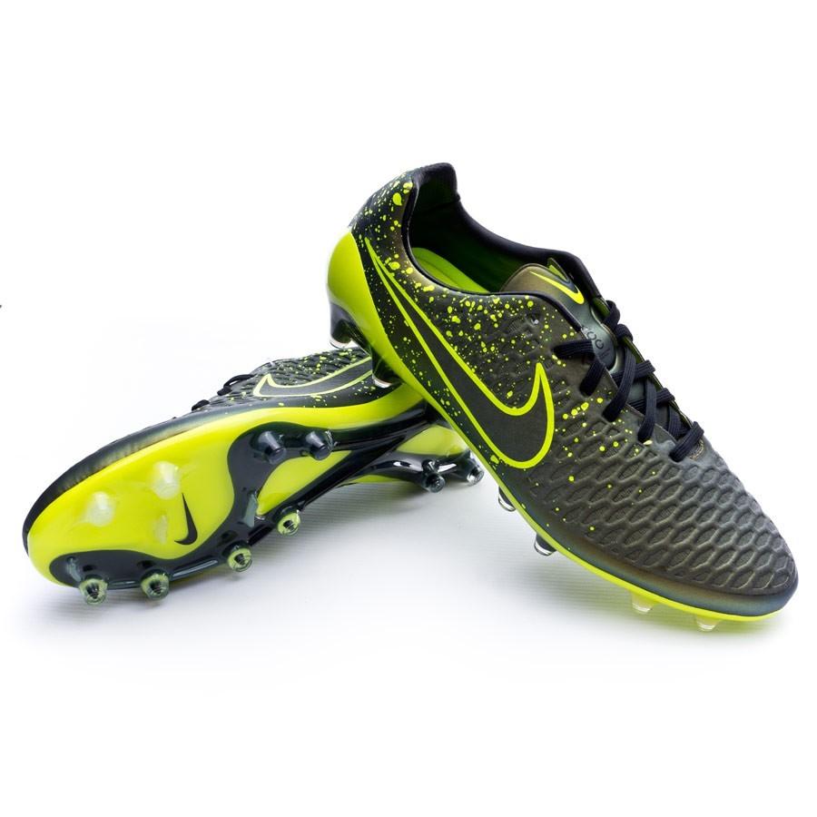 d5ff69ea759 Football Boots Nike Magista Opus ACC FG Dark citron-Volt-Black ...