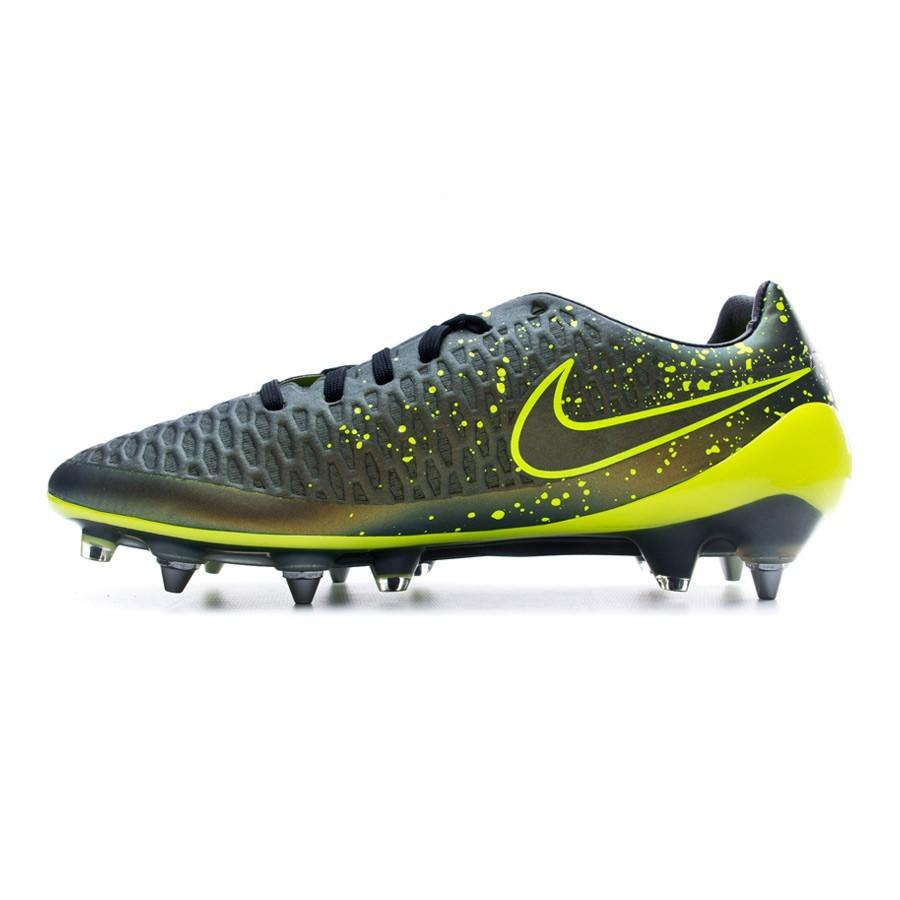 bc97723ceea4 Football Boots Nike Magista Opus ACC SG-Pro Dark citron-Volt-Black -  Football store Fútbol Emotion
