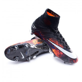 Mercurial Superfly CR ACC SG-Pro Black-White-Total crimson-Purple