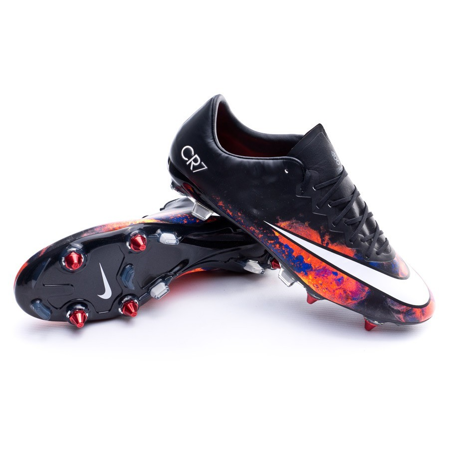 8f59112e33c8 Football Boots Nike Mercurial Vapor X CR ACC SG-Pro Black-White ...