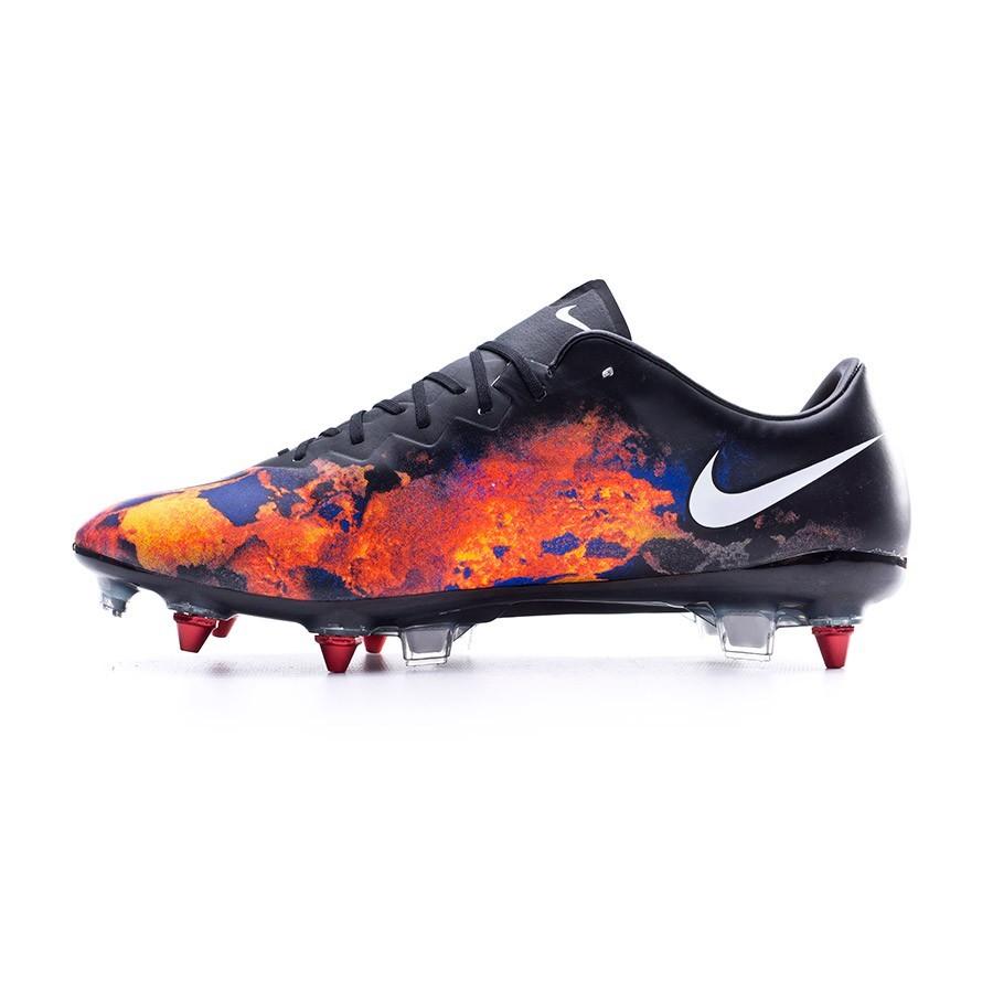 a01027cd400 Football Boots Nike Mercurial Vapor X CR ACC SG-Pro Black-White-Total  crimson-Purple - Football store Fútbol Emotion
