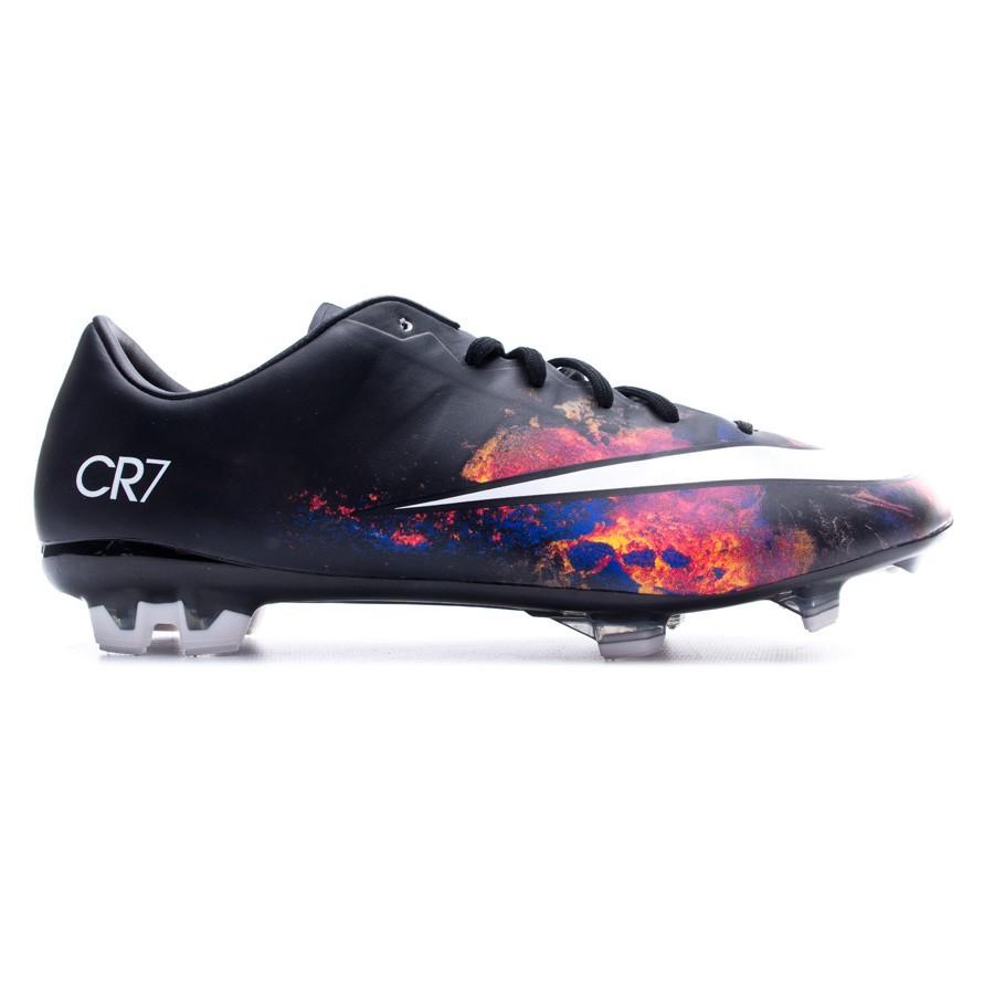 32b7857609d Football Boots Nike Mercurial Veloce II CR FG Black-White-Total crimson- Purple - Football store Fútbol Emotion