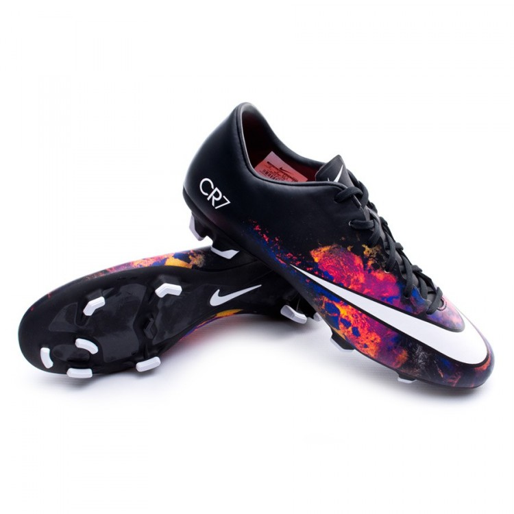 f66797004 Football Boots Nike Mercurial Victory V CR FG Black-White-Total ...