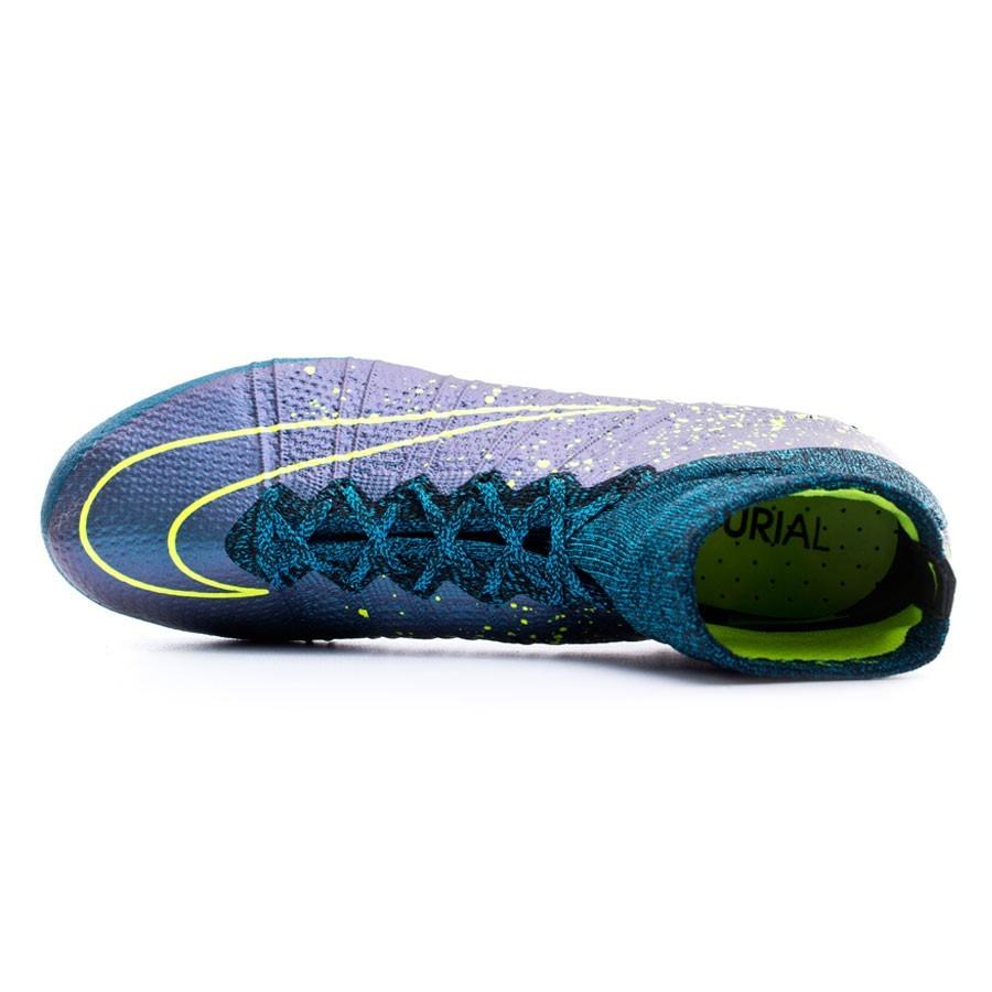 huge discount e9c65 87118 Chaussure de foot Nike Mercurial Superfly ACC AG-R Squadron blue-Volt-Black  - Boutique de football Fútbol Emotion